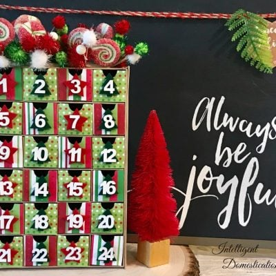 Adorable Advent Calendar Easy Christmas Craft