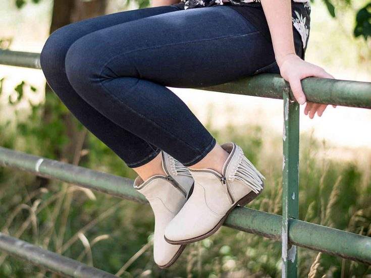 Fringe Bootie by Journee Collection