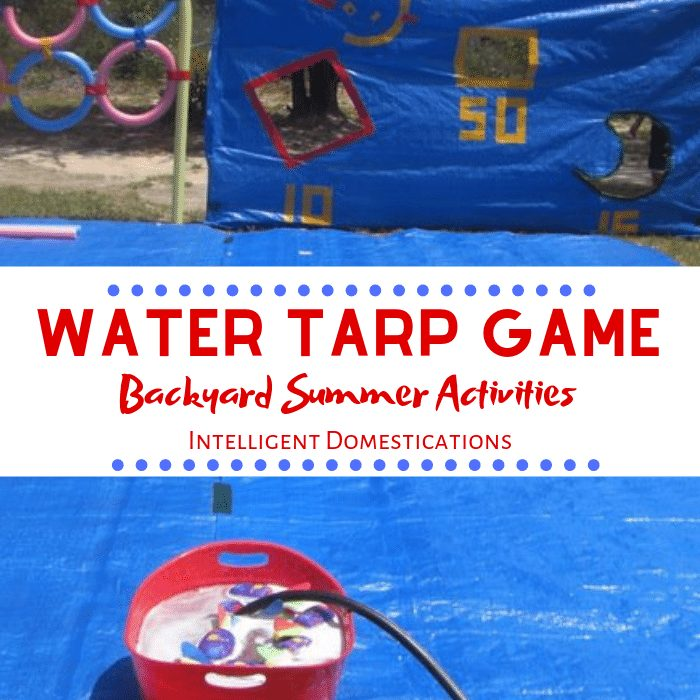 How To Make A Water Tarp Game