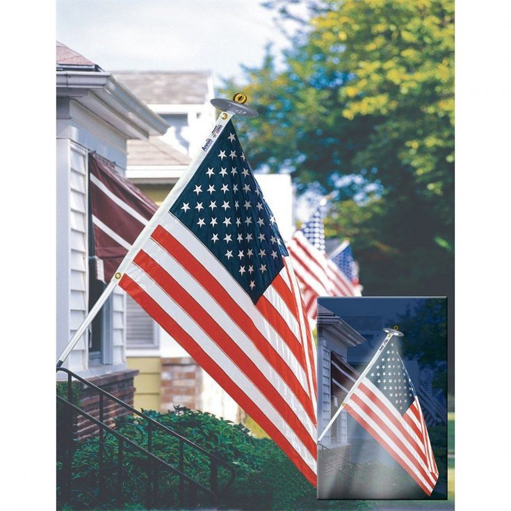 Ultimate Patriot's Lighted U.S. Flag Set