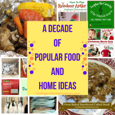 Top 10 Recipes and Home Ideas of the Decade #top10