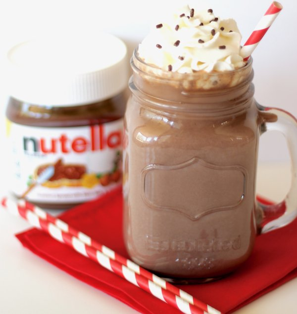 Crockpot Nutella Hot Chocolate Recipe! {4 Ingredients