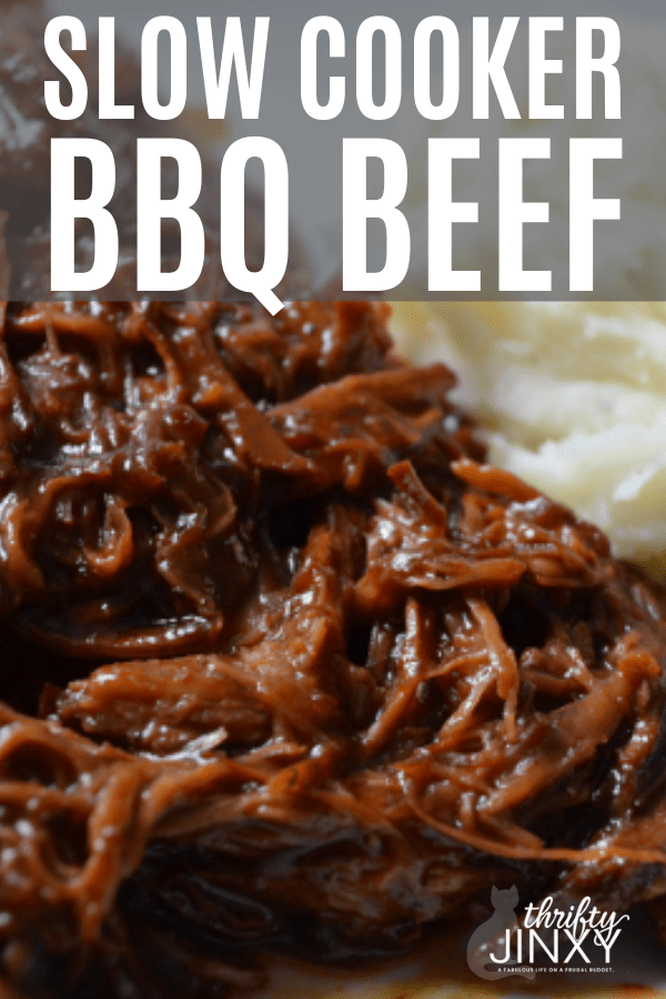 Easy Slow Cooker BBQ Beef
