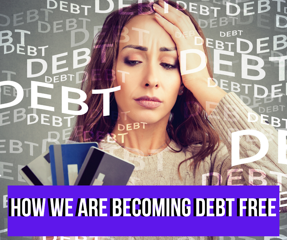 How we are becoming debt free using the Dave Ramsey baby steps