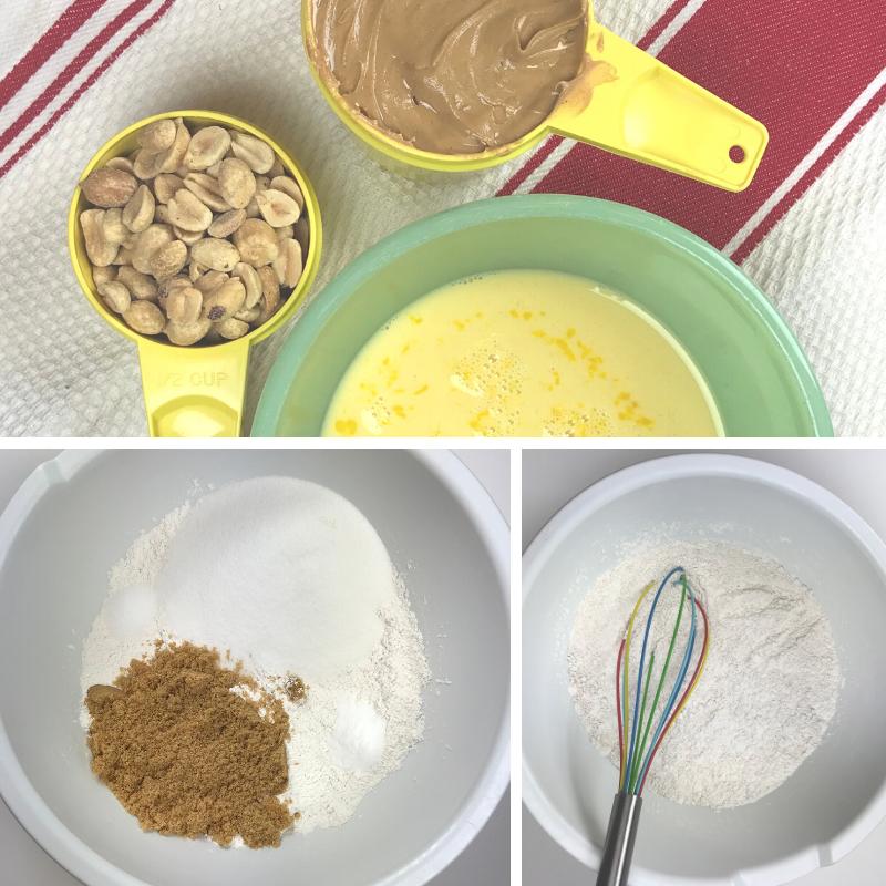 Peanut Butter Bar Ingredients