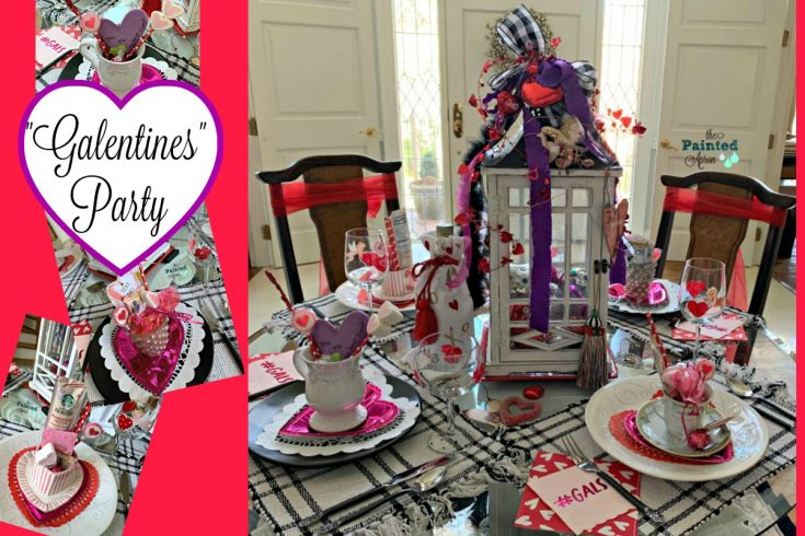 Tablescapes, Galentine's Party