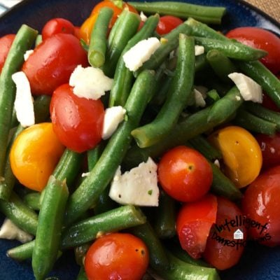 Fresh Green Bean Salad With Feta