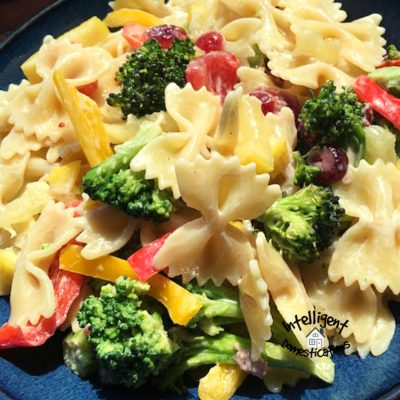 Broccoli Bow Tie Pasta Dish