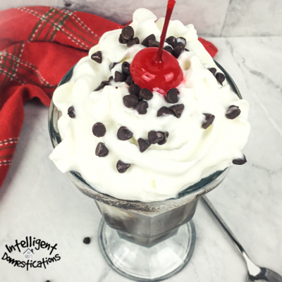 Homemade Chocolate Filled Ice Cream Soda Recipe