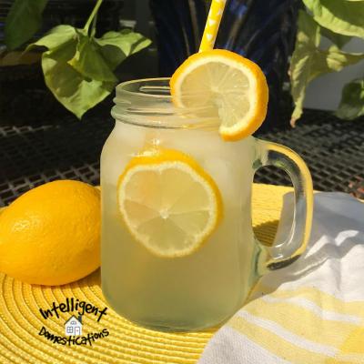 Homemade Lemonade Easy Recipe for Lazy Cooks
