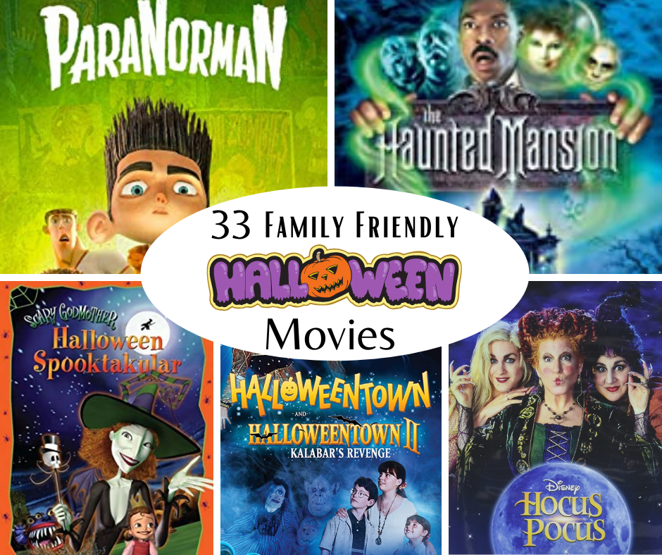 Halloween movies DVD covers