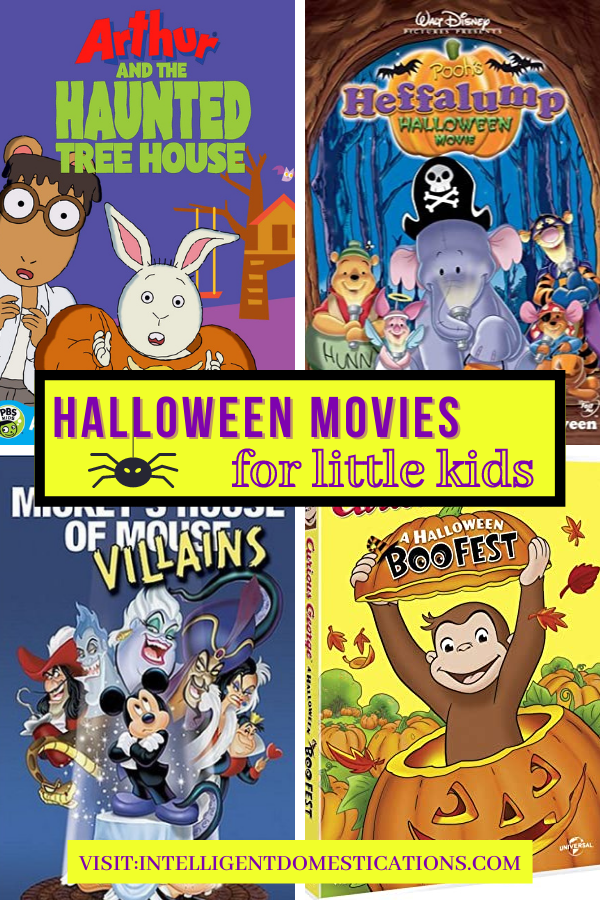 DVD covers for kids Halloween movies