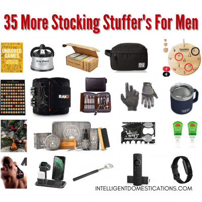 35 More Men's Stocking Stuffer Ideas They Will Actually Enjoy