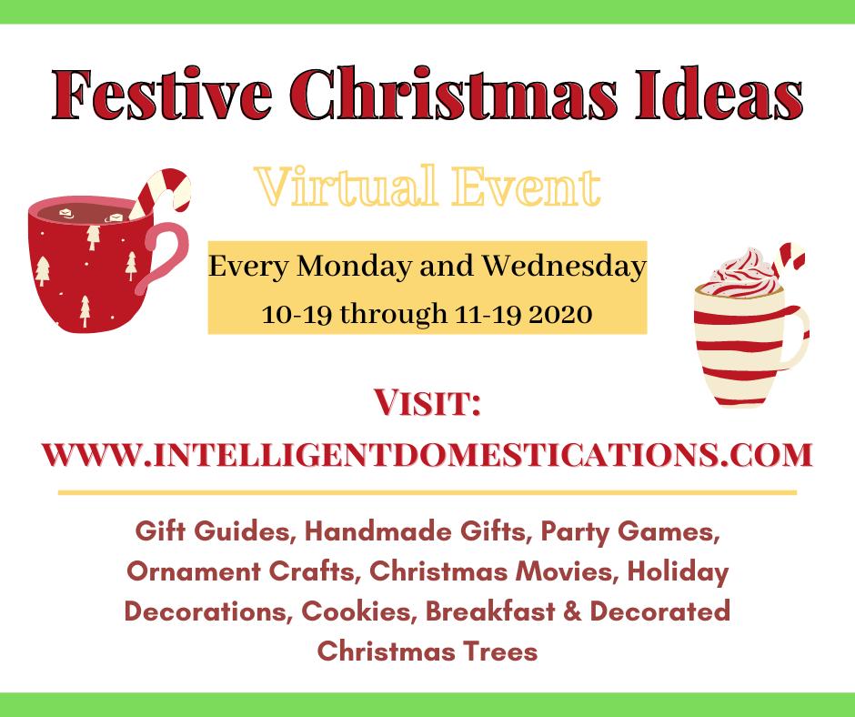 Festive Christmas Virtual Event Info