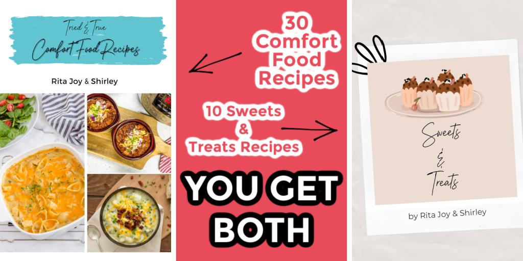 Comfort Food Cookbook Bundle to purchase advertisement
