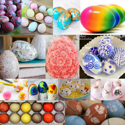 21 Unique Ways To Decorate Easter Eggs
