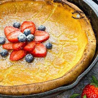 Dutch Baby Pancake Easy Recipe