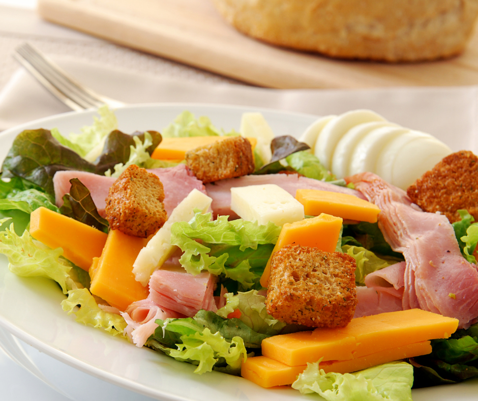 Chef Salad without tomatoes and cucumbers