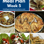 photos of food on a Meal Plan